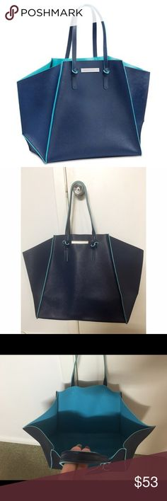 "Vince Camuto large size tote bag Brand new and authentic from Vince Camuto beauty collection.  Beautiful large tote: across 23"", hight 15"", widh 23""    Thanks and please visit my other items. Vince Camuto Bags Totes"