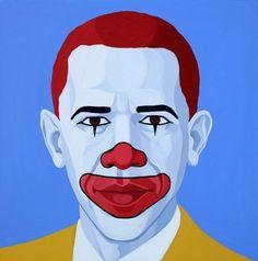 Mc Obama, 2013, by Giuseppe Veneziano