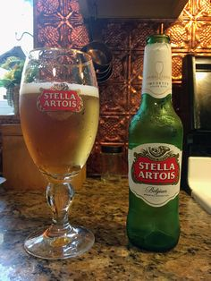 Stella Artois by Brouwerij Artois; Leuven, Belgium.