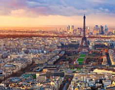 40 of the world's most impressive skylines Paris every time I have been there something magical happened!