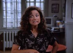19 Times You Saw Elaine Benes And Just Thought, \ Short Friendship Quotes, Seinfeld Elaine, Elaine Benes, Bff, Best Sitcoms Ever, King Of Queens, Julia Louis Dreyfus, Rules Of Engagement, Funny Faces