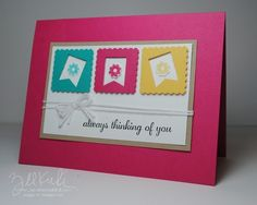 Banner Blast and Postage Punch by amykunkle - Cards and Paper Crafts at Splitcoaststampers