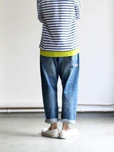 Ordinary Fits ( 오디너리 핏츠 ) : 앵클 데님 팬츠, 루즈 데님 팬츠 : 네이버 블로그