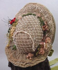 original bonnet posted at The Graceful Lady