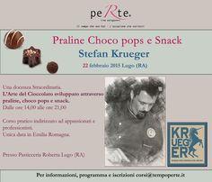 L'Arte del Cioccolato! Unica data in Emilia Romagna con Stefan Krueger!