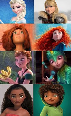 anna, disney, and astrid hofferson image Disney Pixar, Disney Facts, Disney Marvel, Disney Animation, Funny Disney Jokes, Disney Memes, Disney Cartoons, Cute Disney, Disney Girls