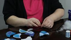 Video: How to Make Stuffed Felt Birds for a Mobile