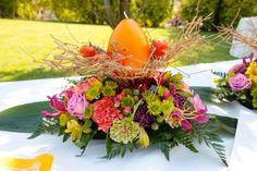 Decoracion en naranja, textural flores, flowers, Fotografía de Alphelia Produccions El Taller de Joan