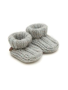 Cashmere Booties - Mint
