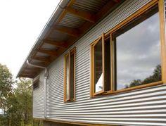 I wonder what the benefits of using galvanised corrugated iron are?