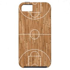 Basketball Court Case Cover iPhone 5 Covers $44.95