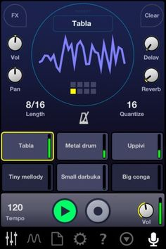 Impaktor Drum Synth - a iOS drum synthesizer that turns any surface into a playable percussion instrument.