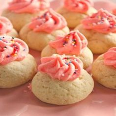Puff Sugar Cookies with Buttercream