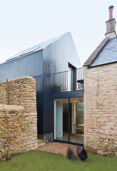 Old and new - Colerne, United Kingdom Shadow House Jonathan Tuckey Design