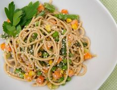 #MeatlessMonday - Nutty Noodles: Sign up for weekly recipes: https://secure.humanesociety.org/site/SPageServer?pagename=meatlessmondaysignup