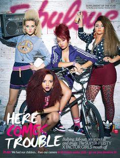 little mix fabulous magazine | Little Mix and Misha B