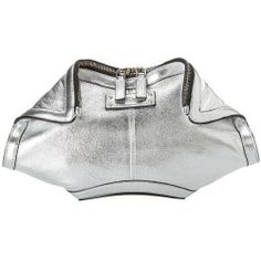 Sales Alexander McQueen - 343328AXQ0N 1408 (Pale Silver) - Bags and Luggage new - Zappos is proud to offer the Alexander McQueen - 343328AXQ0N 1408 (Pale Silver) - Bags and Luggage: Elegant espionage! Other women will want to spy on the eye-catching excitement of your stunning Alexander McQueen clutch!