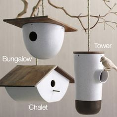 Bodega Birdhouses, constructed with recycled, reclaimed and repurposed materials