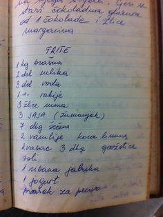 fritule recept