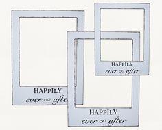 DIY Polaroid Photobooth mit Happily Ever After Schriftzug zum downloaden   Hochzeitsblog Wedding Board