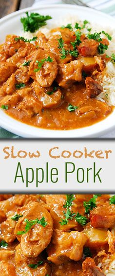 Slow Cooker Apple Pork recipe - you'll have most ingredients on hand, others won't be expensive at all when shopping at No Frills. Lowest prices, no frills