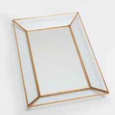 Decorative Mirror Tray Glamorous Golden Mirror Tray  Trays  Tableware  Zara Home Jordan  Decor 2018