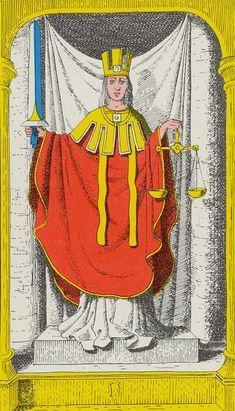 Justice - Royal Fez Moroccan Tarot