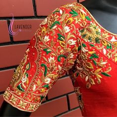 maggam work Magamam work shirt desiges: Rajesh magamam work shirt designs 5 Elements Affecting The V Wedding Saree Blouse Designs, Best Blouse Designs, Pattu Saree Blouse Designs, Blouse Neck Designs, Sari Blouse, Hand Work Blouse Design, Designer Blouse Patterns, Indian Embroidery, Hand Embroidery