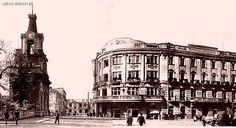 Ritz Hotel in Bialystok, before WWII