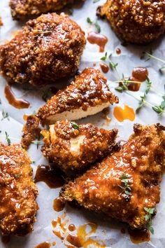 Made an oldie, but goodie for Sunday night…oven fried southern hot honey chicken. It's my take on the famous Nashville hot chicken, only it's oven fried (so healthier) and it̵… Oven Fried Chicken, Honey Chicken, Buttermilk Chicken, Ranch Chicken, Garlic Chicken, Hot Fried Chicken Recipe, Nashville Hot Chicken Recipe, Half Chicken, Beer Chicken