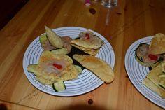 Ricetta in stile tex-mex: tacos fritti,verdure grigliate, fagioli frijoles…