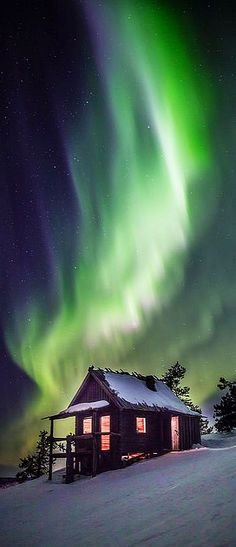 FINLAND - LAPLAND -   AURORA -  Sirkka, Province of Lapland, Finland #Photograph by  Tuomas Juntunen