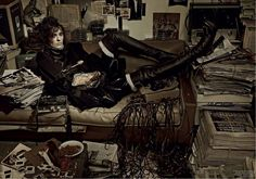 the hoarder: kati nescher by fabien baron for interview june/july 2013   visual optimism; fashion editorials, shows, campaigns & more!