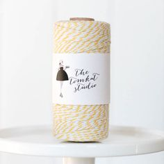 Yellow TomKat Twine - Large Spool for $9.99 from The TomKat Studio Party Shop