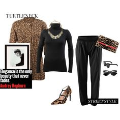 """""""Glamourous Turtleneck"""" by amy-golomb-harris on Polyvore www.amyharris.cabionline.com"""