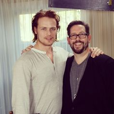 Sam Heughan - Damian Holbrook TVGuide - instagram <-- Sam, why are you so beautiful? You are so beautiful, it hurts.