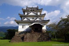 Japanese castles I've visited: #105 Uwajima Castle in Ehime Prefecture. It's one of the 12 original castle structures. More about it in my blog: http://zoomingjapan.com/travel/uwajima-castle/
