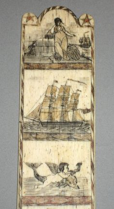 Textiles (Clothing) - Busk - Search the Collection - Winterthur Museum Primitive Painting, Naval, Seashell Art, Vintage Fishing, Country Art, Naive Art, Beach Art, Ancient Art, Art Forms