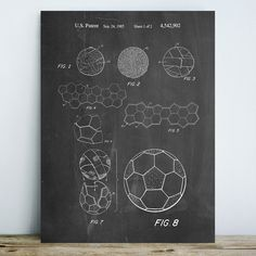 "JaxsonRea ""Soccer Ball"" by Cole Borders Graphic Art on Wrapped Canvas Office Canvas, Canvas Online, Balloon Dog, Patent Drawing, Wall Art Designs, Artist Canvas, Cool Walls, Soccer Ball, Framed Wall Art"