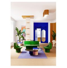 A new interior architecture is emerging, that will move boundaries between object and space Estilo Interior, Modern Interior, Interior Styling, Interior Architecture, Interior Decorating, 80s Interior Design, Custom Made Furniture, Design Furniture, Colorful Furniture