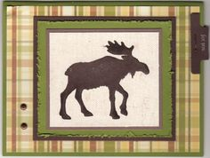 Moose for you by dawngee - Cards and Paper Crafts at Splitcoaststampers