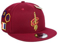 134a63232ff39a Cleveland Cavaliers New Era 2018 NBA On-Court Collection 9FIFTY Snapback Cap    lids.