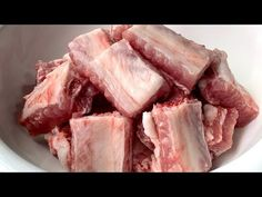 (243) 我家排骨從不燉著吃,教你懶人做法,不加一滴水,上桌瞬間被掃光 - YouTube Chinese Soup Recipes, Chinese Pork, Pork Recipes, Ribs, Seafood, Beef, Vegetables, Youtube, Chef Recipes