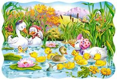 The Ugly Duckling parça) Castorland Çocuk TL Free Puzzles For Kids, Free Puzzle Games, Free Jigsaw Puzzles, Free Games, The Little Match Girl, Ugly Duckling, Close Image, Being Ugly, Tweety