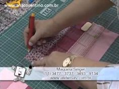 Patchwork Ana Cosentino: Colcha Dupla Face AULA COMPLETA é só assistir o video e fazer colchas lindas Tutorial Patchwork, Colchas Quilt, Quilt Blocks, Quilts, Diy Videos, Craft Videos, My Favourite Teacher, Quilt As You Go, Quilting Tips