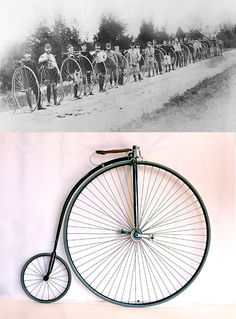Columbia Light Roadster High-Wheel Bicycle, 1886