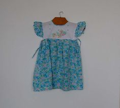 Vintage New Duck Embroidered Dress  Size by petitbonhommevintage, $17.00