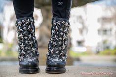 Jeffrey Campbell Star Studded Boots via ShoeQUEENDOM.com
