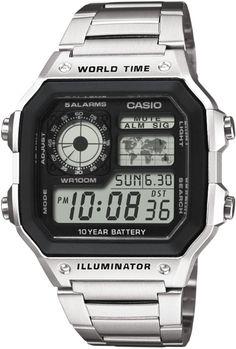787f15c9b6a Купить наручные часы Casio AE-1200WHD-1AVEF   цены Casio AE-1200WHD-1AVEF в  России Москва