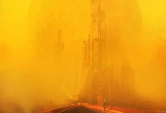 Building Atmosphere, Alexander Mandradjiev on ArtStation at http://www.artstation.com/artwork/building-atmosphere
